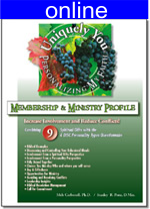 Combining 9 Spiritual Gifts w/4 (DISC) Personality Online Profile  (approx. 60 printed pgs.) Expanded Version