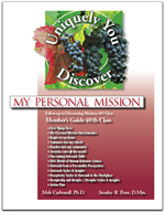 Personalizing My Faith My Personal Mission Profile