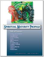 Personalizing My Faith Spiritual Maturity Profile