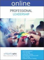 Professional Leadership - Online Profile (approx. 70 printed pgs.) Expanded Version