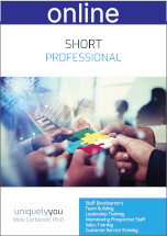 Short Professional Online Profile (approx. 40 printed pgs.) Expanded Version