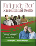 Uniquely You Personalizing Profile (Faith-Based DISC Personality)