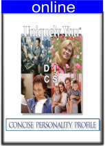 Concise Personality  Online Profile Expanded Version