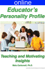 Educators Personality Online Profile - (approx. 45 printed pgs.) Expanded Version