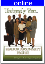 Realtors Personality Online Profile (approx. 45 printed pgs.) Summarized