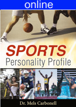 Sports Personality Online Profile - (approx. 25 printed pgs.) Summarized Version